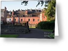 Dunfermline. Abbot House. Greeting Card
