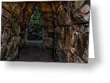 Dungeon Walls Greeting Card