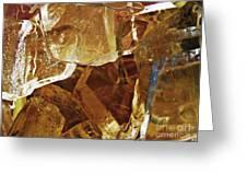 Dunkin Ice Coffee 6 Greeting Card