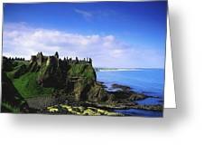 Dunluce Castle, Co Antrim, Irish, 13th Greeting Card