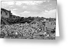 Dunn Street Demolition 2 Greeting Card