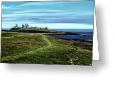 Dunstanburgh Castle Greeting Card