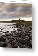 Dunstanburgh Castle Uk Greeting Card