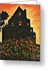 Duntrune Castle Argyll Scotland Greeting Card