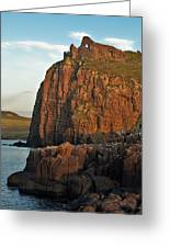 Duntulm Castle Greeting Card