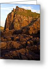 Duntulm Castle Isle Of Skye Greeting Card