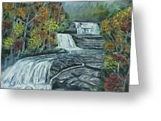 Dupont State Forest Triple Falls Greeting Card