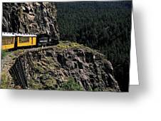 Durango - Silverton Train Greeting Card