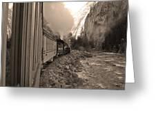 Durango Silverton Greeting Card