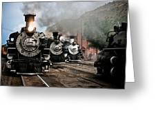 Durango - Silverton Railroad Greeting Card