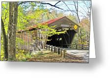 Durgin Covered Bridge Greeting Card