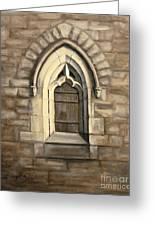 Durham Window Greeting Card