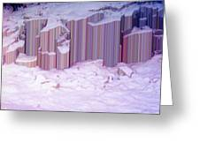 During The Snow Fall 33  Greeting Card
