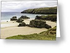 Durness Beach Greeting Card