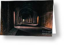 Durrow Tunnel Greeting Card