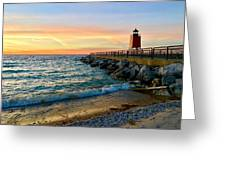 Dusk In Charlevoix Greeting Card