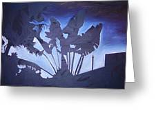 Dusk In The City Greeting Card