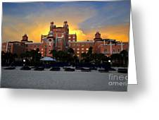 Dusk Over Don Greeting Card