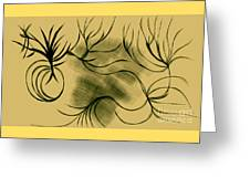 Dust And Vine Greeting Card