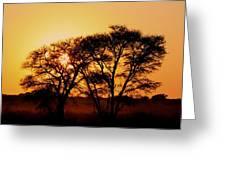 Dusty Sunrise Greeting Card