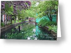 Dutch Canal Greeting Card