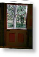 Dutch Door Greeting Card