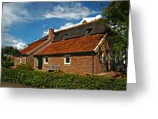 A Home In The Netherlands  Greeting Card