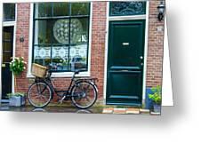 Dutch House Facade Greeting Card