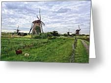 Dutch Icon Greeting Card