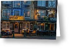 Dutch Steak Greeting Card