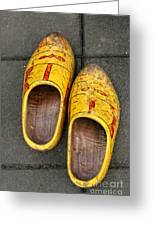 Dutch Wooden Shoes Greeting Card