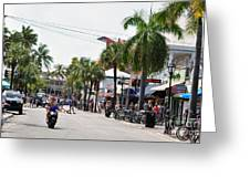 Duval St. Greeting Card