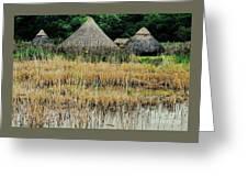 Dyflin Viking Village, Ireland Greeting Card
