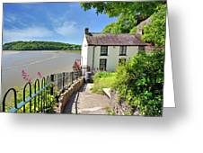 Dylan Thomas Boathouse 4 Greeting Card