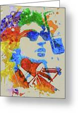 Dylan Watercolor Greeting Card