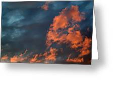 Dynamic Sky Greeting Card