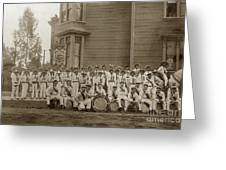Eagle Band's Drum Corps. Native Sons Of The Golden West  Circa 1908 Greeting Card