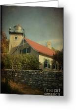 Eagle Bluff Lighthouse Greeting Card