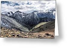 Oregon's Eagle Cap Wilderness  Greeting Card
