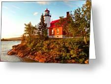 Eagle Harbor Lighthouse, Michigan Greeting Card