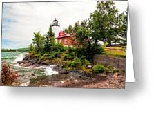 Eagle Harbor Lighthouse No 2 Greeting Card
