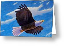 Eagle Heart II Greeting Card