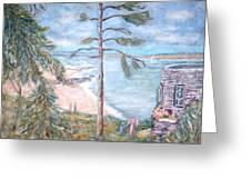 Eagle Island Greeting Card