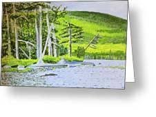 Eagle Lake, Acadia, Maine Greeting Card