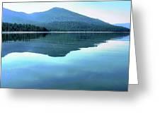 Eagle Lake Blues Greeting Card