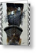 Eagle Mates Greeting Card