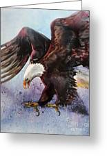 Eagle Of Light Greeting Card