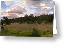 Eagle Rock Estes Park Colorado Greeting Card