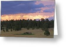 Eagle Rock Estes Park Greeting Card