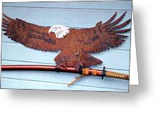 Eagle Sold   Greeting Card by Steve Mudge